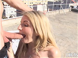 ChicasLoca - sizzling outdoor reality smash with crazy Latina