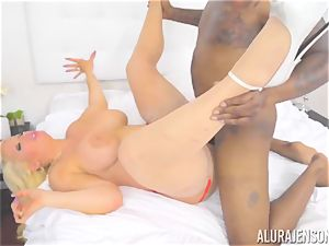 mummy Alura Jenson makes her daughters bf witness as she gets humped