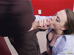 Married damsel Chanel Preston gets titfucked and her vag tearing up by thief