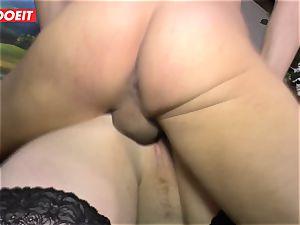 LETSDOEIT - plump doll Gets pounded hard On fucky-fucky tape