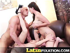 LatinFixation super-hot three way with Sophie Dee