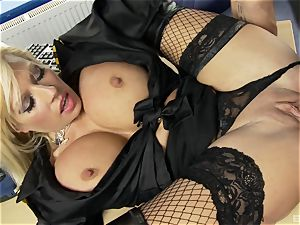Michelle Thorne got into law to be handsome