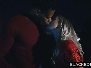 BLACKEDRAW boyfriend with cuckold wish shares his blonde girlfriend