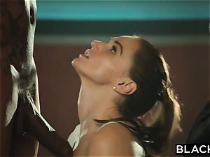 BLACKED Tori black Is lubed Up And predominated By two BBCs