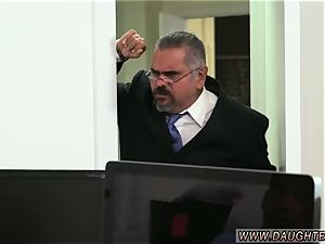 Neighbor catches step mummy and associate associate s daughter-in-law sweet sinner father Bring
