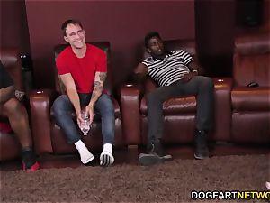 big black cock three-way with Karlee Grey - cuckold Sessions