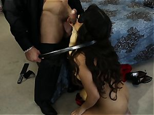 huge-titted latina Mercedes Carrera ravaged in her taut moist gash