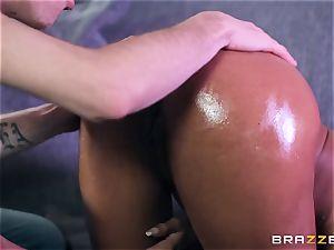 Kiki Minaj inserted by a immense milky boner
