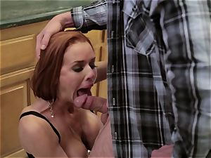 Mean mommy Veronica Avluv pokes her daughter's man