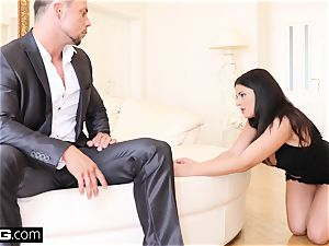 Coco De Mal blows a load harshest when she gets dp'd