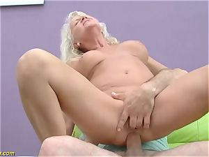 fantastic 73 years old mother first-ever massive cock ass-fuck shag