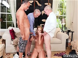 senior school panty gonzo Frannkie And The group Tag squad A Door To Door Saleswoman