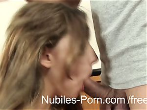 Nubiles porn - firm boink makes Czech inexperienced splatter