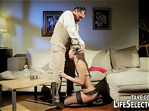 insatiable fuckdoll Doris Ivy is being predominated by a perver