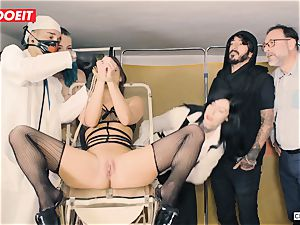 LETSDOEIT - Amirah Is abused at her very first bdsm soiree