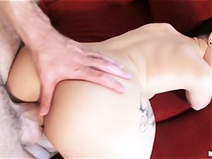 freshly wed Katrina Jade is lubed up and boinked by her fresh husband