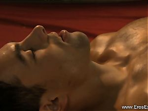personal guts examination and massage