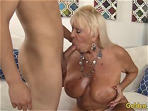 grandmother Mandy McGraw seduces boy