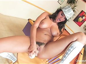 Charley chase's handsome solo session on a bar stool