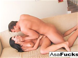 Asa gets a solid and firm fuck
