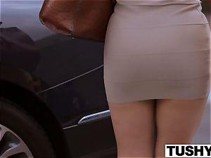 TUSHY Eva Lovia anal video part trio