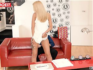 Katrin Tequila screwed hardcore on her first-ever audition
