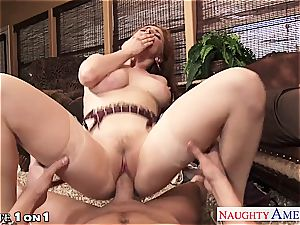 Ginger Penny Pax in pov getting her honeypot railed