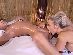 massage apartments mind-blowing brown-haired Amirah Adara