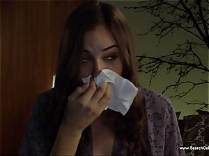 wonderful Sasha Grey bares her diminutive funbags