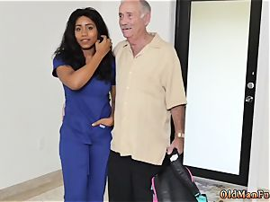 brown-haired prays for throbbing and throating fuckpole after facial gonzo Glenn completes the job!