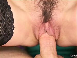 black-haired cutie Dava gets fucked point of view fashion