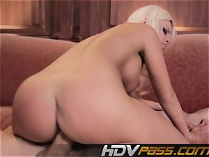 insatiable tramp Britney Amber Gets gonzo And cumshot