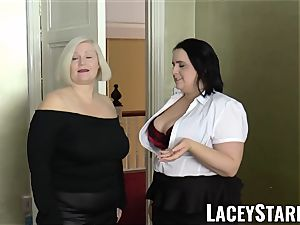 LACEYSTARR - chicks jizzed on their steamy faces by big black cock