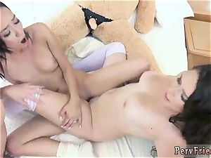 lezzy foreplay and 2 lezzies gobbling vulva cub Necessities