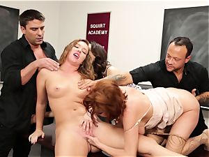Classroom pumping out session with Veronica Avluv and Maddy OReilly