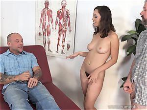 Jade Nile Has Her husband blow weenie and see Her