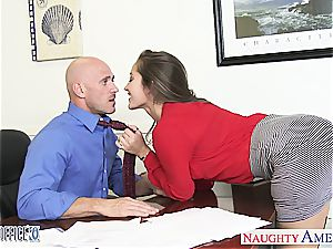 inviting Dani Daniels bends over for a great pulverize from behind