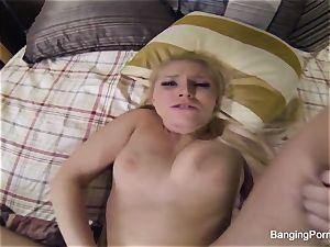 Vanessa's stiff pov penetrating