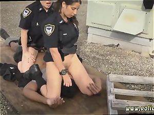 first-timer mummy casting creampie Break-In try Suspect has to penetrate his way out of