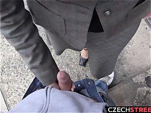 Czech milf secretary Pickup up and porked